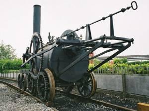 Первый железнодорожный состав